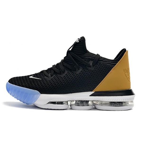 Men Black Wheat Nike LeBron 16 Low Soundtrack