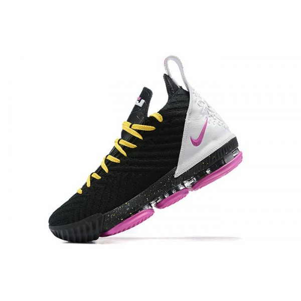 Men Nike LeBron 16 Miami Black Pink
