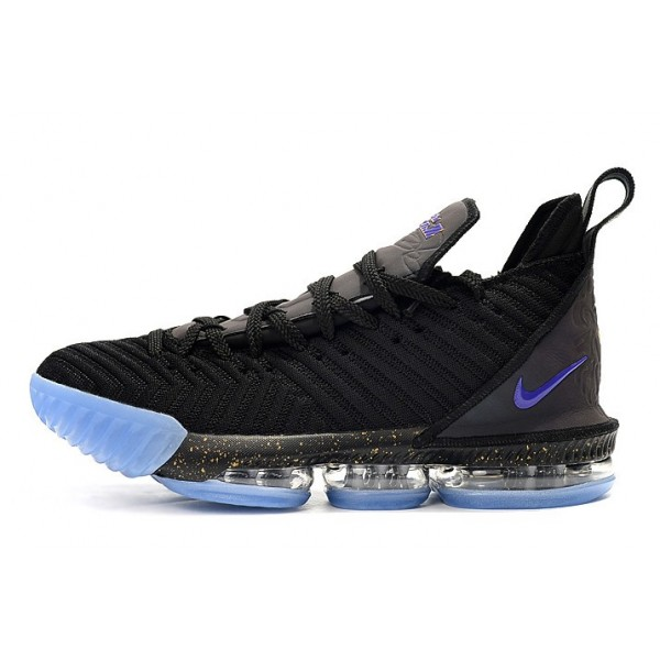 Men Nike LeBron 16 Chameleon Black Blue