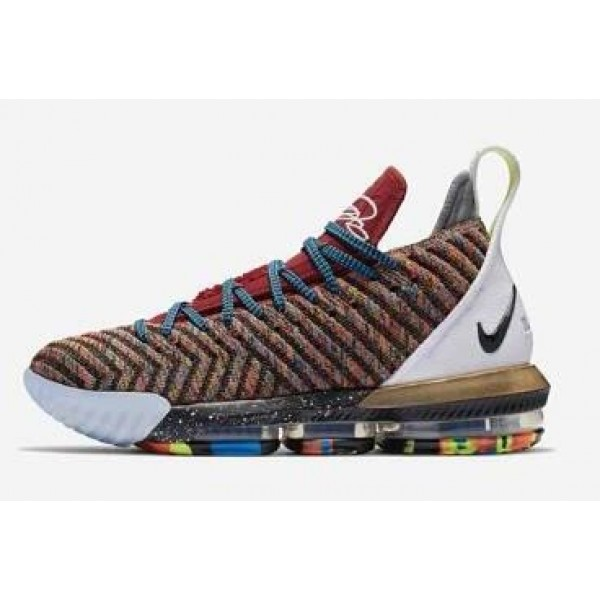 Men Nike LeBron 16 What The 1 Thru 5 Multicolor
