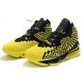 Men Nike LeBron 17 Black-Yellow-Volt