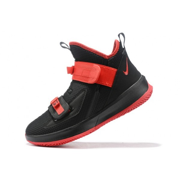 Men Nike LeBron Soldier 13 Black-Red