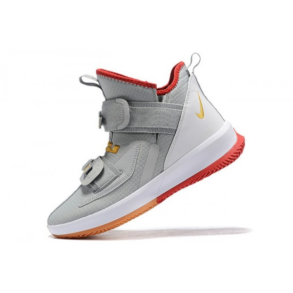 Men Nike LeBron Soldier 13 Yeezy Light Bone