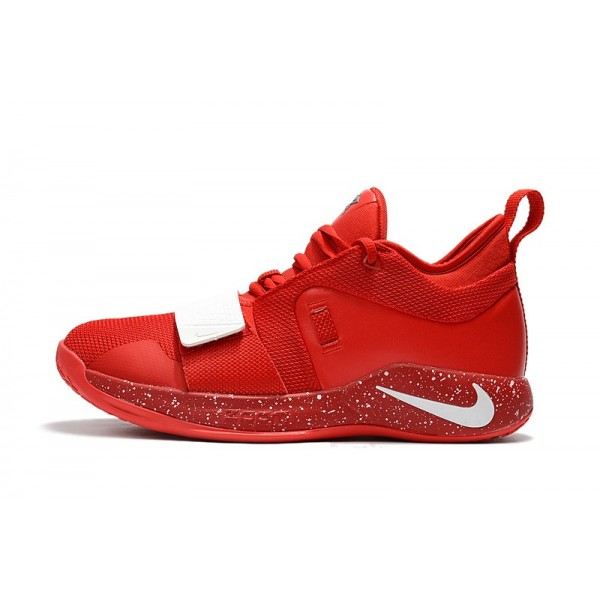 Men 2018 Nike PG 2.5 University Red-White Shoes