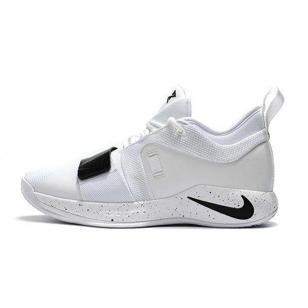 Men 2018 Nike PG 2.5 White Black Shoes