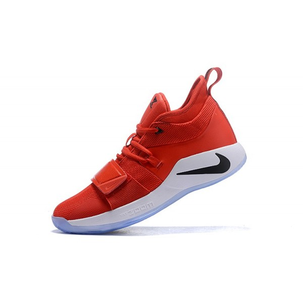 Men 2018 Nike PG 2.5 Fresno State Gym Red-Dark Obsidian-White