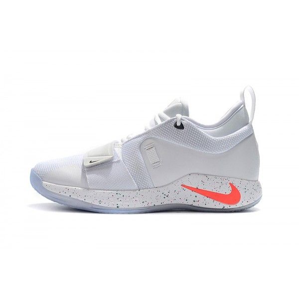 Men 2018 Nike PG 2.5 White-Multi-Color