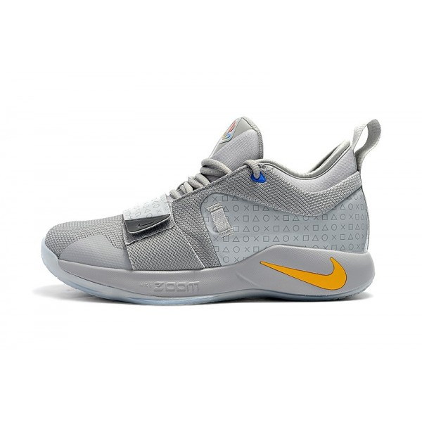Men 2018 Playstation x Nike PG 2.5 Wolf Grey-Multi-Color