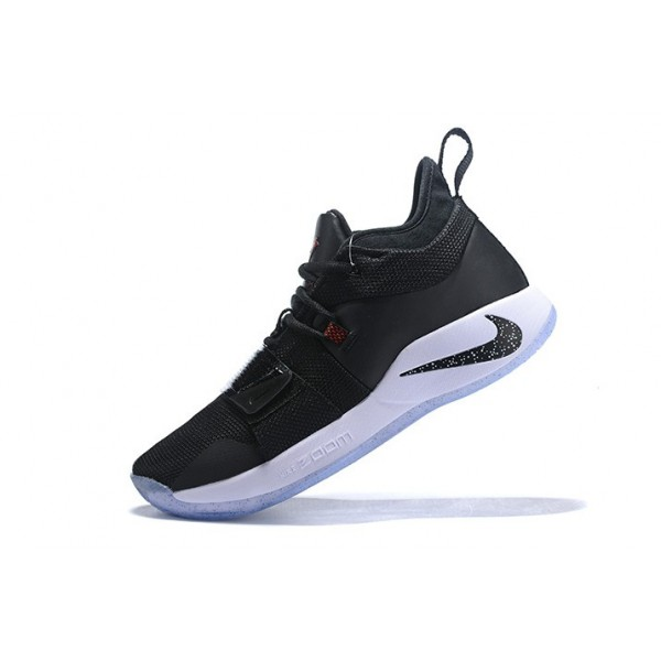 Men Nike PG 2.5 Taurus Black-Black-White-Solar Red