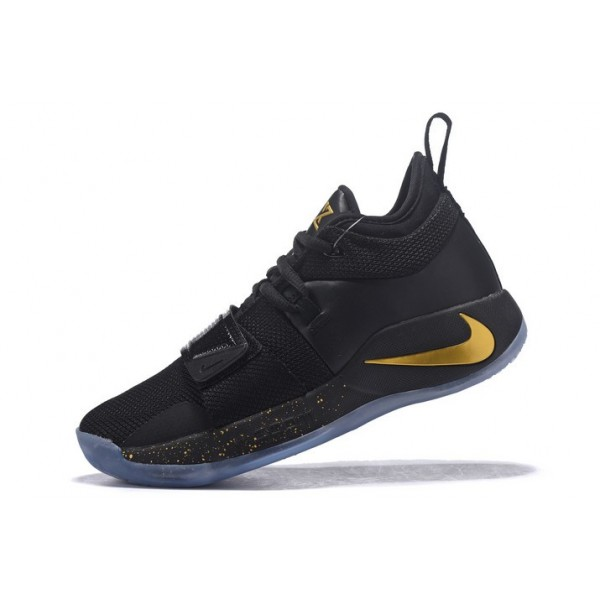 Men Nike PG 2.5 Black-Metallic Gold