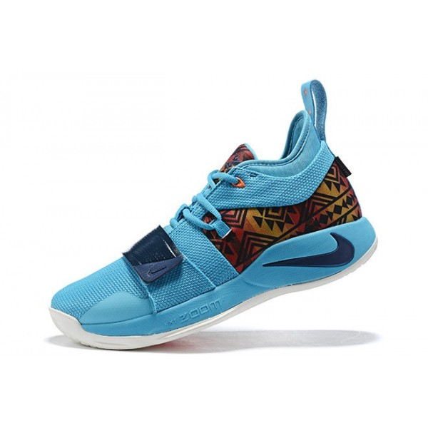 Men Nike PG 2.5 Pendleton Multi-Color-College Navy