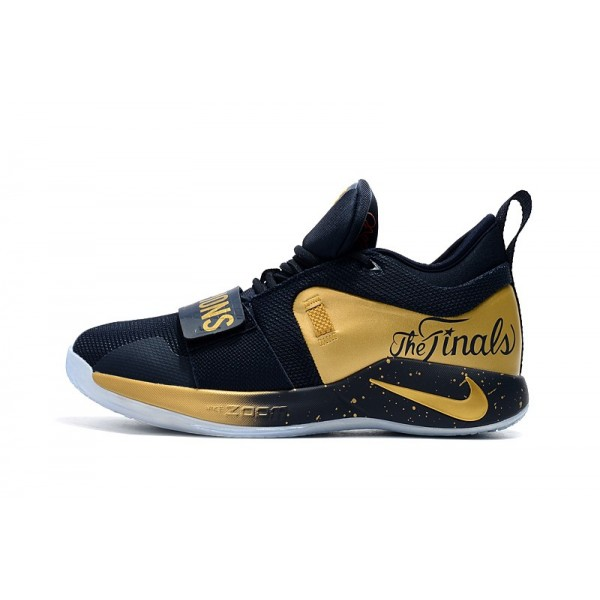 Men Nike PG 2.5 Midnight Navy-Metallic Gold
