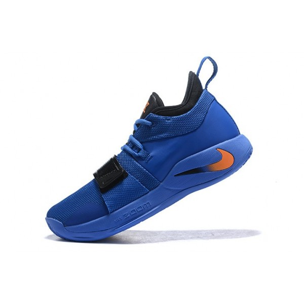 Men Nike PG 2.5 Royal Blue-Black-Oranges