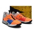 Men Nike PG 3 Orange-Metallic Silver-Blue-Black