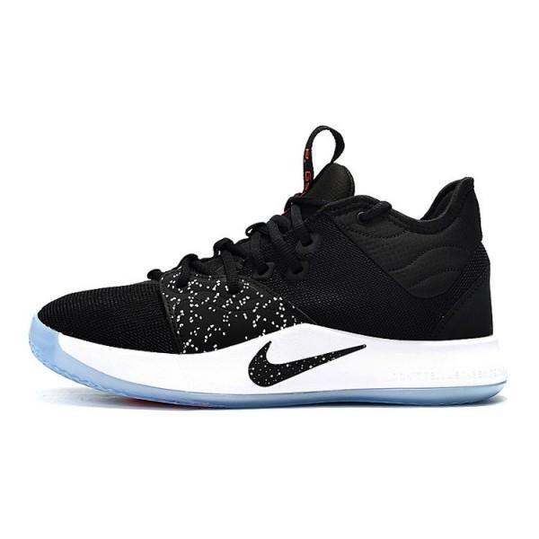 Men Nike PG 3 Taurus Black-White-Solar Red