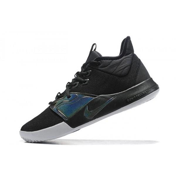 Men Nike PG 3 Iridescent Black AO2607-003