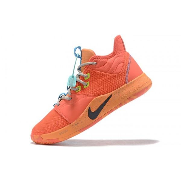 Men Nike PG 3 Orange Blue Grey