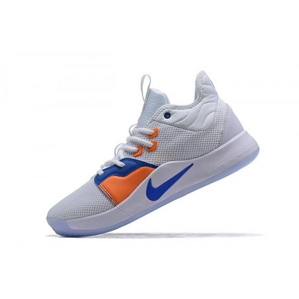Men Nike PG 3 The Bait III White-Photo Blue